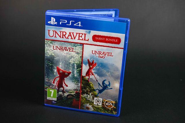 Unravel 1 + 2 PS4 jak nowa, co-op