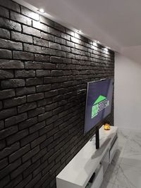 Stara cegła z gotową fugą IMPERIAL grafit. 3 kolory fugi