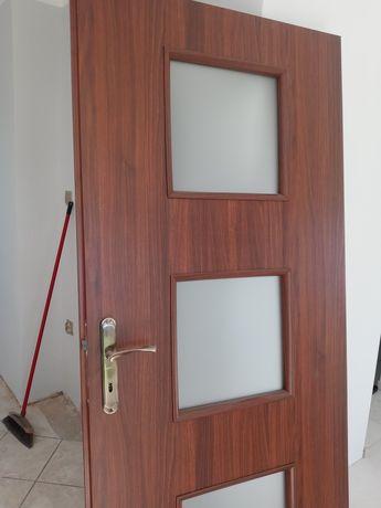 Drzwi wewnętrzne prawe skrzydło bez opaski
