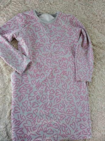 Modna dresowa sukienka 146