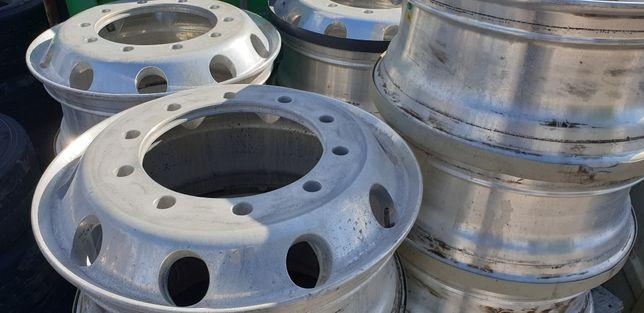 Felgi aluminiowe ciężarowe używane 9.00x22.5