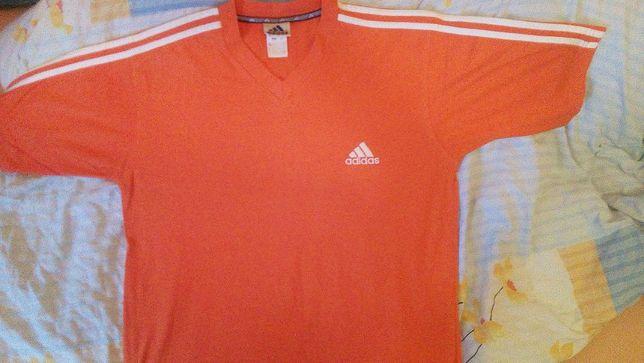 Sprzedam/Zamienie koszulke ADIDAS roz. L pomaranczowa jak nowa