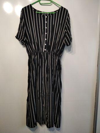 Sukienka midi w paski