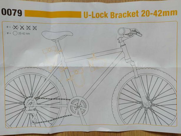 U lock uchwyt rowerowy