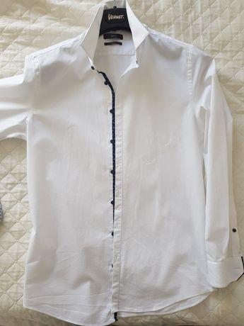 Koszula biala slim fit 41/42 zara wolczanka Reserved Jakes