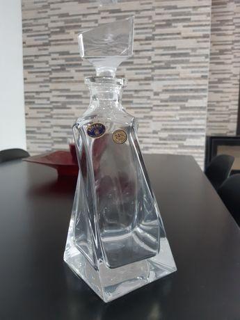 Garrafa cristal Bohemia