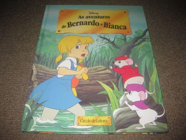 """Livro """"As Aventuras de Bernardo e Bianca"""""""