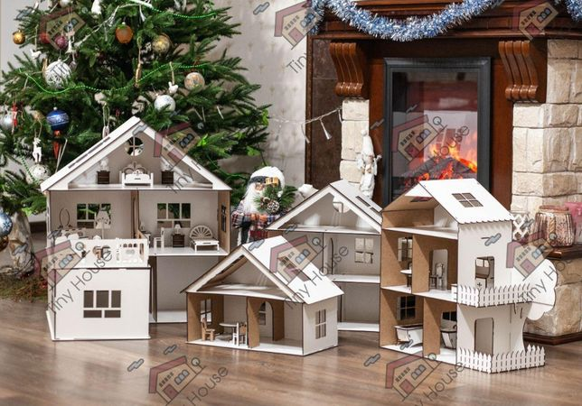 Ляльковий будинок з меблями ЛОЛ Барбі Кукольный домик