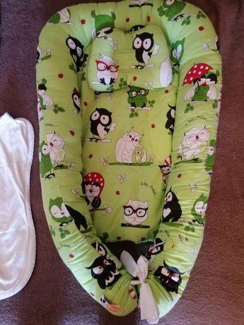 Продам кокон гнёздышко с ортопедической подушкой и коконы на замке
