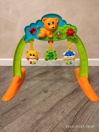 Продам музыкальную арку с подвесными игрушками.
