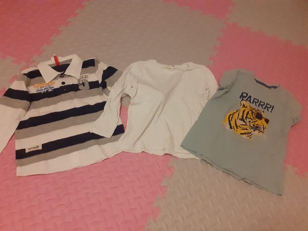 Koszulki chłopięce 2-4 lata