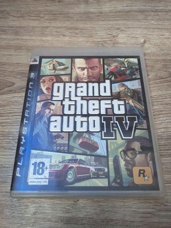 Gra PlayStation 3 GTA IV 4 + MAPA PS3
