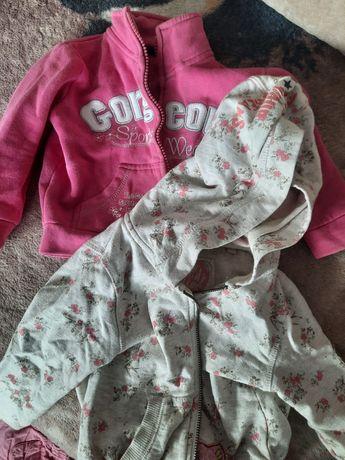 Ciepłe bluzy dla dziewczynki
