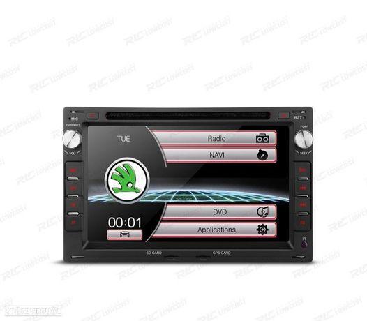 "AUTO RADIO 2DIN 7"" SKODA OCTAVIA / SUPERB USB GPS TACTIL HD"