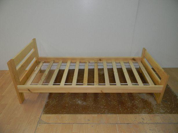 Łóżko sosnowe 90X200 sosnowe, lakierowane