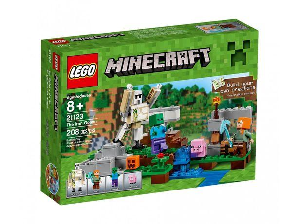 LEGO 21123 Minecraft - Żelazny golem Nowy