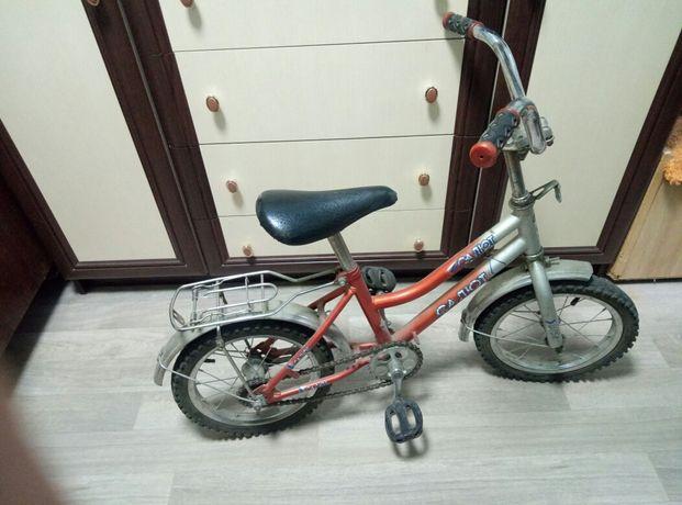 Велосипед Салют детский, диаметр колес 14 дюймов