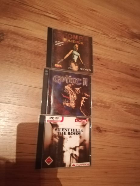 Tomb raider, gothic, silent hill 4 pc
