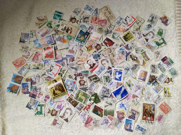 Polskie znaczki pocztowe 100 szt
