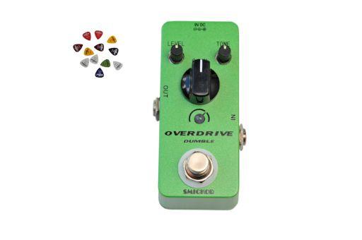 Efekt gitarowy Smickor Overdrive DB green + 3 piórka GRATIS!