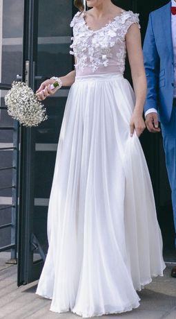Suknia ślubna, spódnica