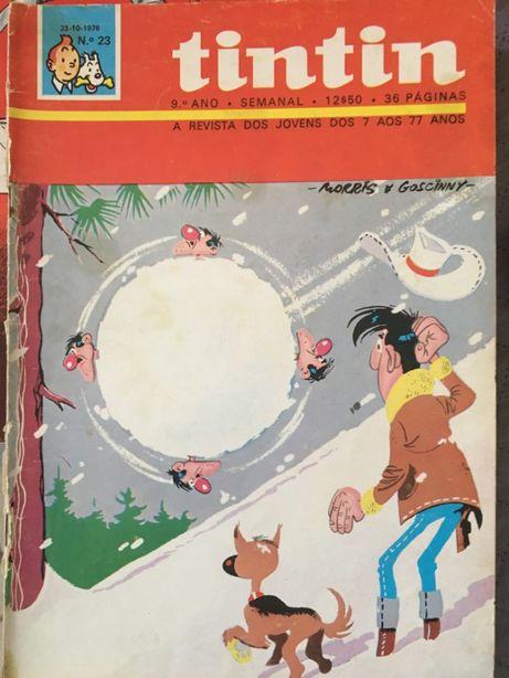 Revistas Tintin no total 97 do 9º ao 13º ano (12º ano completo)