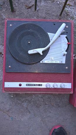 Adapter, Gramofon BAMBINO 3 dla kolekcjonera