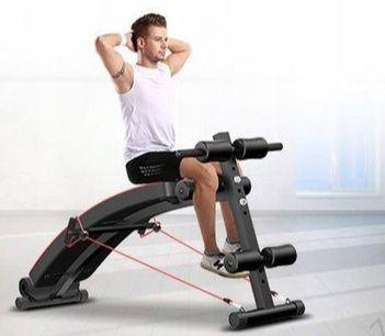 Mam do sprzedania ławkę treningową do ćwiczeń + zestaw dodatków )