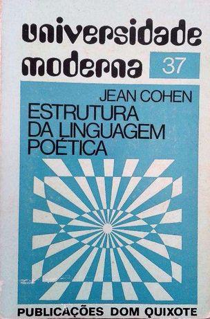 """Vendo """"Estrutura da linguagem Poética"""" de Jean Cohen"""