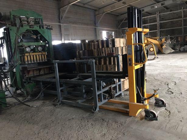 Виробництво блоків шлако відсів керамзит прес мішалка лінія бізнес