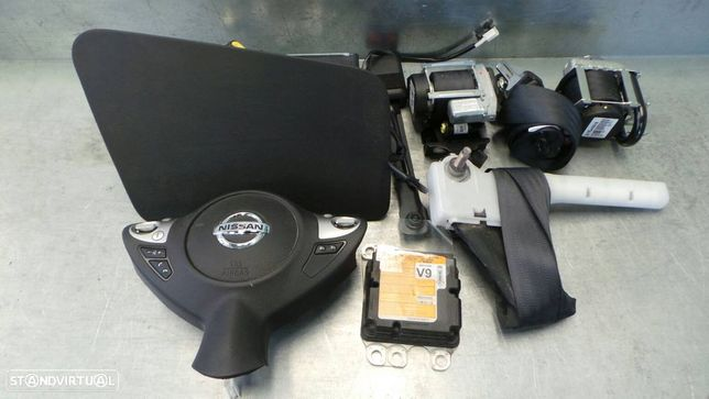 Kit Airbags Nissan Juke (F15)