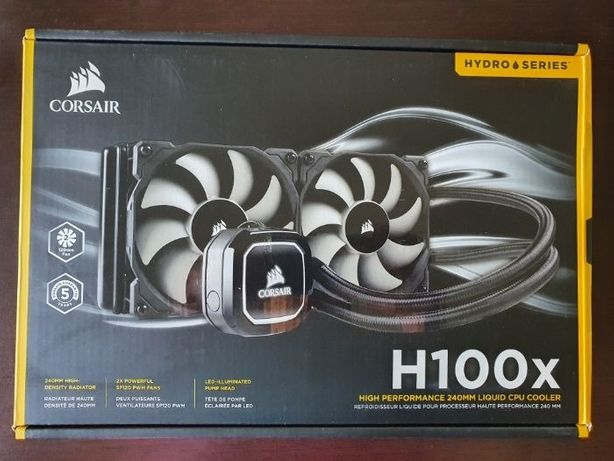 Water Cooler CPU Corsair Hydro Series H100x 240mm