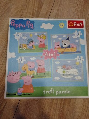 Puzzle Trefl ze Świnką Peppą