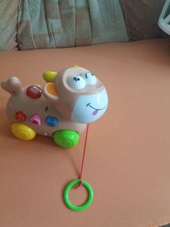 Детская игрушка музыкальная корова