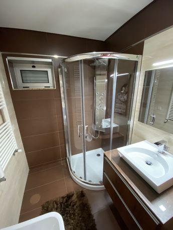 Base de duche/ cabine de duche e coluna