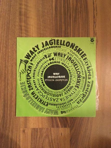 Wały Jagiellońskie Etykieta Zastępcza winyl płyta winylowa LP