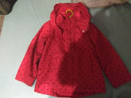Płaszczyk płaszcz kurteczka kurtka rozmiar 110/116
