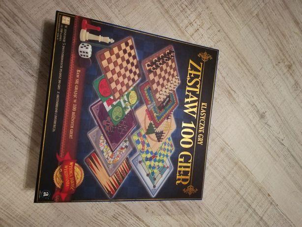 Zestaw 100 gier planszowych