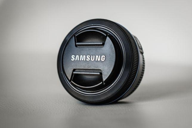 Obiektyw samsung nx 20mm f/2.8