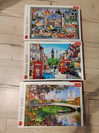 Puzzle 1000 Trefl Ulica Londynu Włoskie wakacje, Central Park