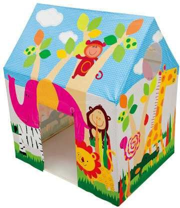 Детская палатка игровая домик Intex 45642