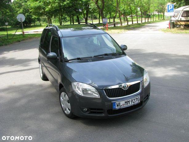 Škoda Roomster 1.4 Benzyna Klimatronik, Parktronik, Panorama dach, od Niemca