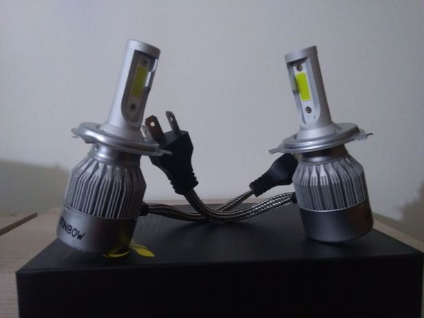 Kits lâmpadas led cree H4- 200W ( CANBUS ) ( NOVAS )