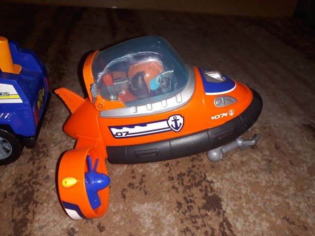 Psi Patrol Pojazd Zuma zabawka do kąpieli