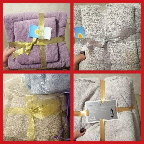 Подарочный комплект полотенец