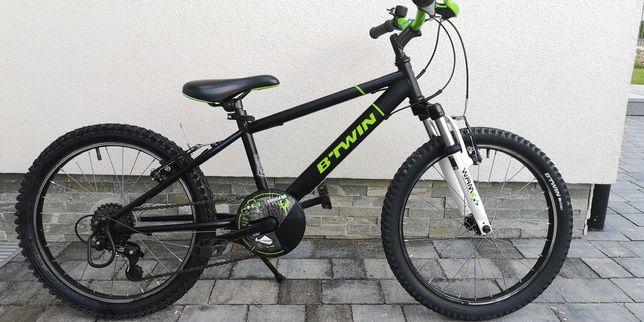 Idealny rower B'twin dla chłopca ok.4-7 lat koła 20 cali