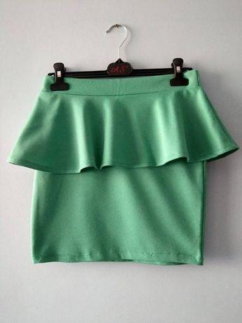 Turkusowa spódnica M