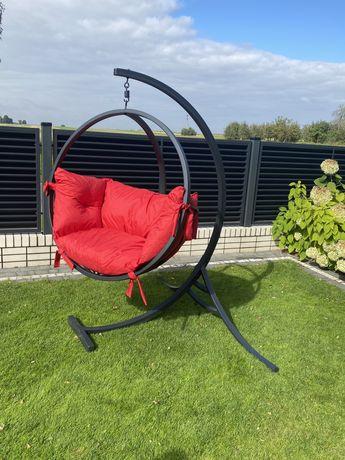Fotel wiszący bujany, huśtawka ogrodowa kosz
