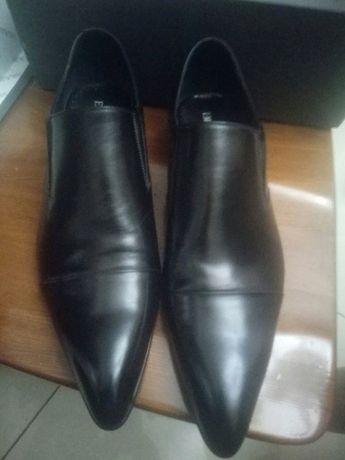 мужские стильные туфли Cat&fox 100 % Italian trend натуральная кожа