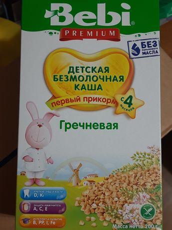 - 12% скидка Bebi б/мол. гречка мол. кукуруза